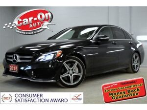 2015 Mercedes-Benz C-Class C400 4MATIC LEATHER PANO ROOF