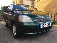 TOYOTA YARIS 1 LITRE 5 DOORS WITH 16 TOYOTA SERVICE STAMPS