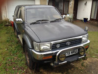 1992 Toyota Hilux Surf - SPARES OR REPAIR