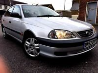 2003 TOYOTA AVENSIS 1.8VVTI PETROL, ONLY 67000 MILES, EXCELLENT CONDITION, PART EXCHANGE WELCOME