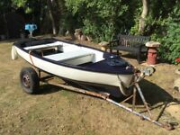 10ft boat with outboard