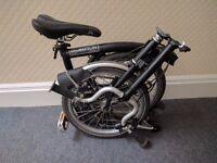 Brompton M6R - 6 gears folding bicycle