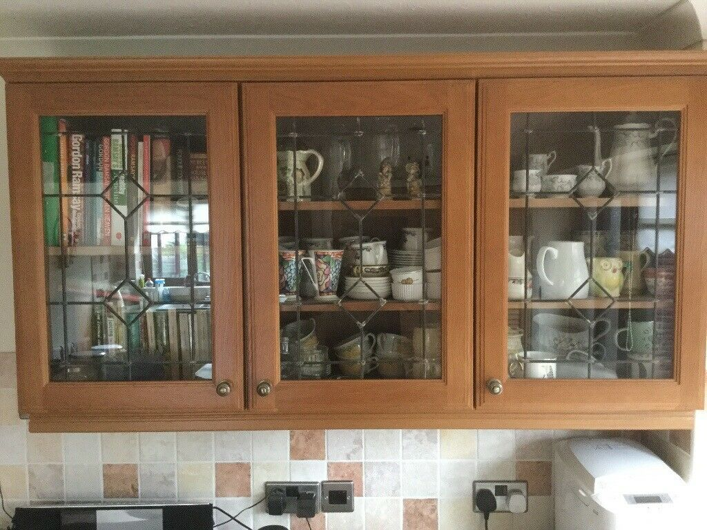Kitchen Cabinets Gl Fronted Wall Mounted In Lowestoft Suffolk Gumtree