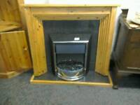 Electric fire #30031 Fire surround#31434 £39