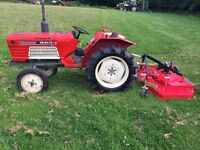 Yanmar 2010 2WD Compact Tractor with New 6FT Finishing Mower, 24HP, 980 Hours