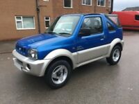 2004 Suzuki Jimny O2 Convertible 4x4 Very Clean Jeep 1 Year MOT 1 Year Warranty Cheap Reliable