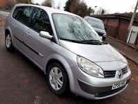 7 SEATER RENAULT GRAND SCENIC 1.6 PETROL 1 YEAR MOT 45.000 MILES 3 MONTHS WARRANTY