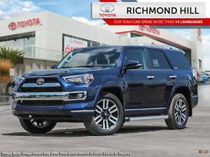 2018 Toyota 4Runner Limited Package 7-Passenger  - $199.18 /Wk