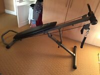 Weider Body Works Pro exercise bench for sale. Pristine condition and very rarely used!