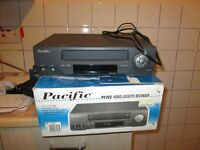 Pacific PV 202 Video Cassette player/recorder for sale £20.