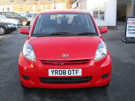 2008 DAIHATSU SIRION 5 DOOR 1.3 PETROL LOW MILES NICE CAR LOOKS AND DRIVES EXCELLENT