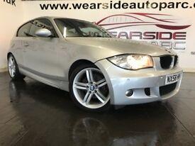 BMW 1 SERIES 2.0 118d M Sport 3dr (silver) 2008