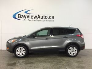 2014 Ford ESCAPE S- 2.5L|HITCH|A/C|CRUISE|LOW KM'S!