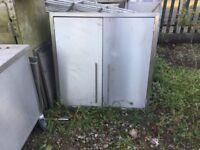 Stainless Steel Wall 2 Door Cabinet/ Cupboard