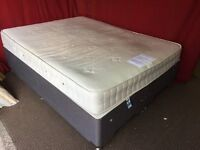 KING SIZE DIVAN BED WITH MATTRESS,CAN DELIVER