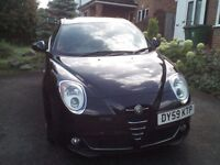 ALFA MITO LUSSO Full M.O.T. Immaculate in and out in Black Carbonio Metalic