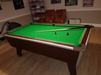 7' by 4' Pool & Snooker Jacques Table