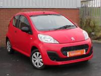 Peugeot 107 ACCESS (red) 2012-06-30