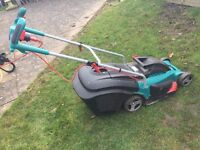 Bosch electric lawn mower in good condition