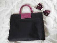 Ladies Pink and Black Bag from Envy