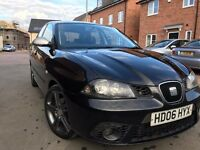 Seat IBIZA 1.9 Tdi 130 FR 5 Door Hatchback Black 2006 Long MOT