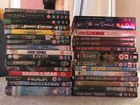 30 DVD's including 6 boxsets