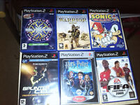 Seletion of some Classic PlayStation 2 Games!