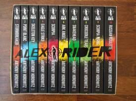 Alex Rider - The Complete Missions - 10 Book Box Set