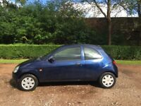 FORD KA 1.3 STYLE 04 REG GENUINE 67113 MILES LADY OWNER MOT MAY 28TH 2018 LOW INSURANCE 48+MPG