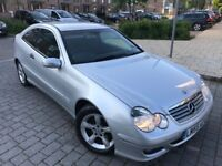Mercedes-Benz C Class 2.1 C220 CDI,Coupe,Diesel *Automatic*2 owner,New Mot,Full service,Hpi clear