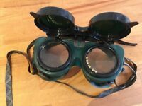 Brazing gas welding goggles - 2 pairs