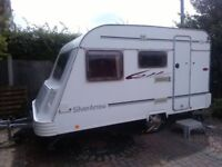 small lightweight caravan 3 to 4 berth year 2006