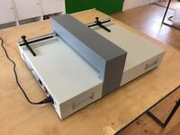 SRA3 electric card creasing machine