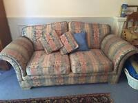 Two furniture village sofas