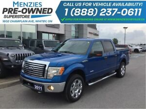 2011 Ford F-150 XTR 4x4, Bluetooth, USB, Clean Carproof