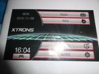 "xtron 8 ""; touchscreen stereo radio dvd gps bluetooth double din unit"
