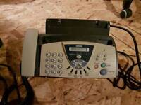 Brother fax t106 thermal fax machine