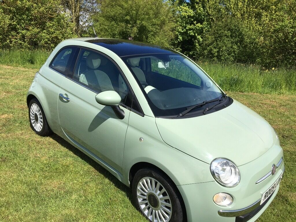 fiat 500 1 3 multijet lounge diesel very low mileage panaramic glass roof in flamborough east. Black Bedroom Furniture Sets. Home Design Ideas