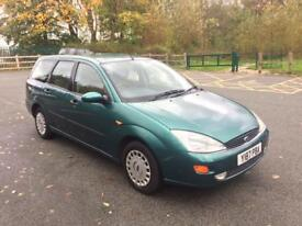 2001 Ford Focus 1.6 ghia automatic auto ✅ estate ✅ low milage . 12 months mot