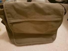 Canvas laptop bag/satchel for sale