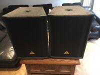 Behringer euroline B1500x bass speaker