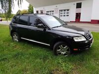 LHD LEFT HAND DRIVE ,Volkswagen Touareg , Automatic .