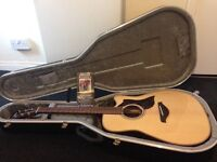 Yamaha A1R dreadnaught electro acoustic with SRT pick up