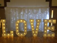 4feet love letters for hire