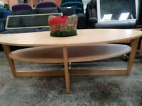 Large oval coffee tables available