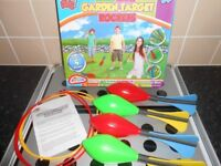 NEW - GARDEN TARGET ROCKETS GAME
