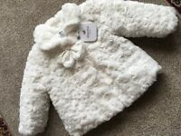 New absorba baby girls jacket