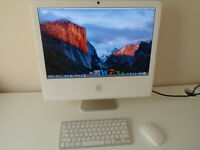 "APPLE IMAC 20"" GREAT CONDITION WITH WIRELESS KEYBOARD & MOUSE"