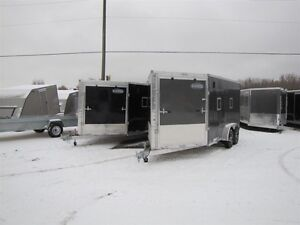 2017 Cargo Express 7' x 19' (EXTREME) ALL ALUMINUM SNOWMOBILE TR