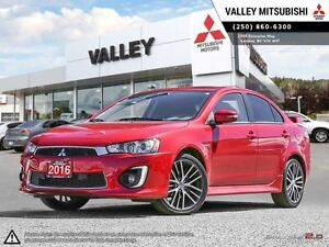 2016 Mitsubishi Lancer GTS PREMIUM- AWC, TOUCH SCREEN, SUN ROOF,